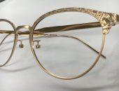クラッシュ加工 眼鏡フレーム